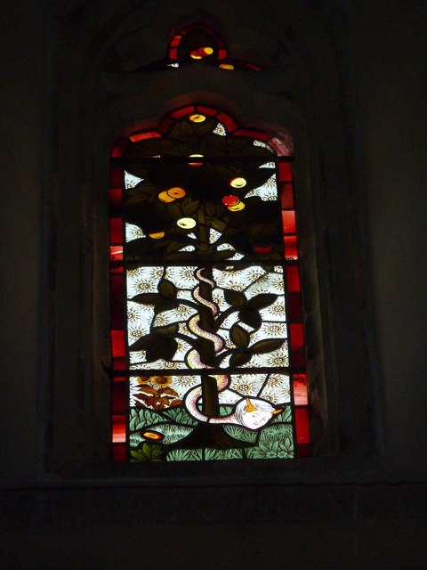 St. Andrew, Monkton Wyld: stained glass window (xii)