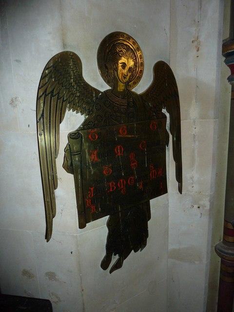 St. Andrew, Monkton Wyld: memorial (II)