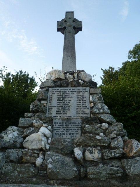 Dull War Memorial