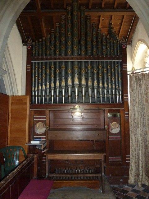 St. Andrew, Monkton Wyld: organ