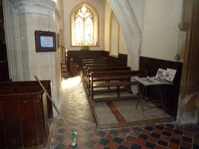 Inside St. Andrew, Monkton Wyld (L)