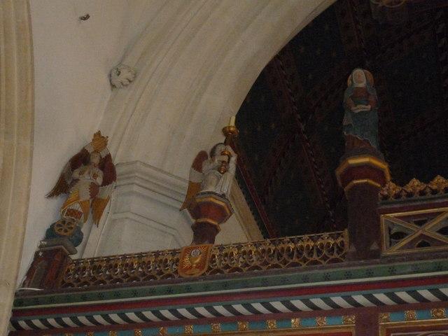 Inside St. Andrew, Monkton Wyld (M)