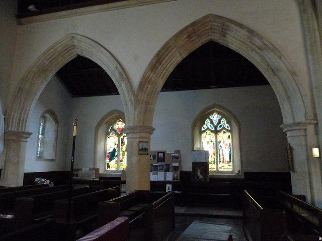 Inside St. Andrew, Monkton Wyld (N)