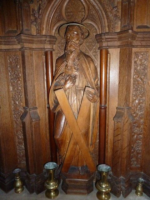 Inside St. Andrew, Monkton Wyld (O)