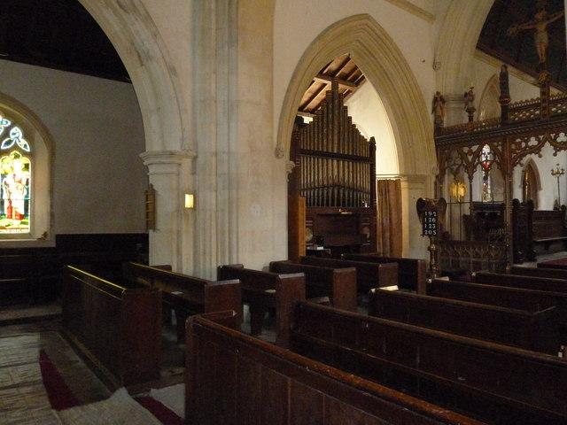 Inside St. Andrew, Monkton Wyld (R)