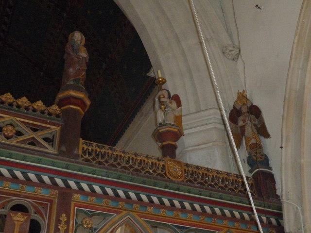 Inside St. Andrew, Monkton Wyld (T)