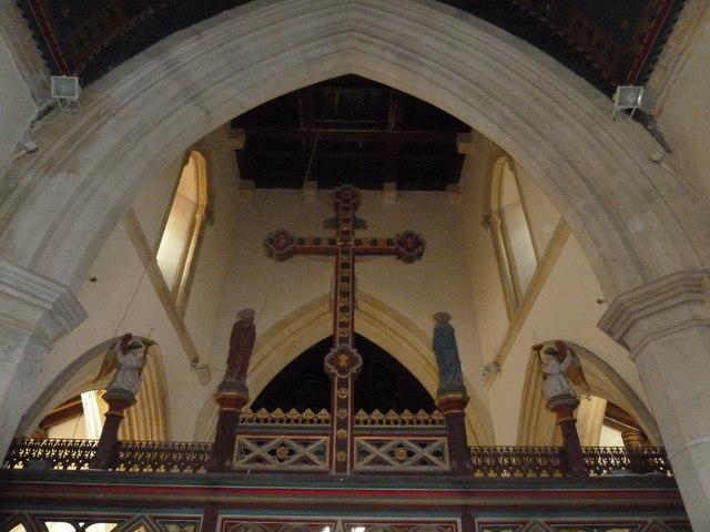 Inside St. Andrew, Monkton Wyld (U)