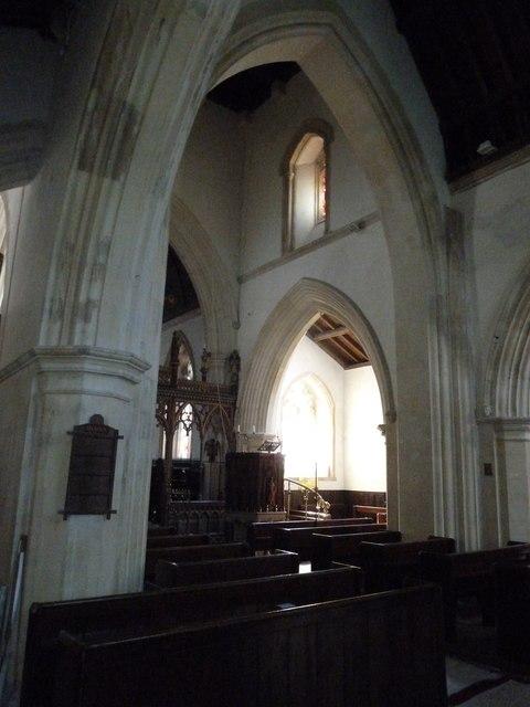 Inside St. Andrew, Monkton Wyld (V)
