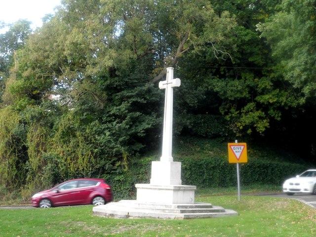 War memorial, near Finchamstead