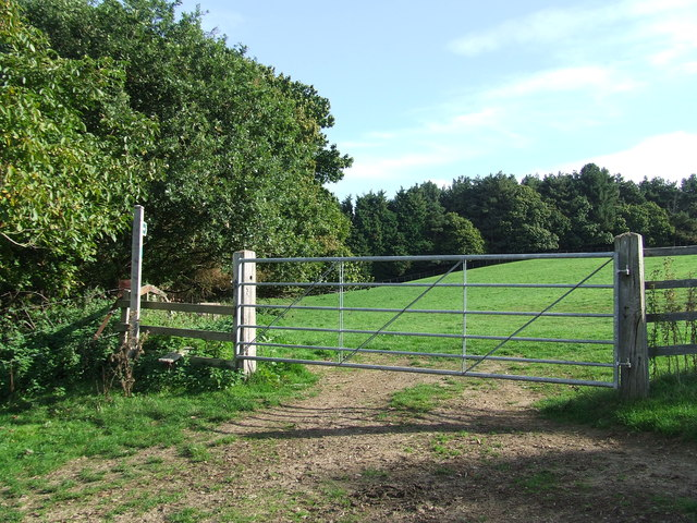 Gate And Footpath