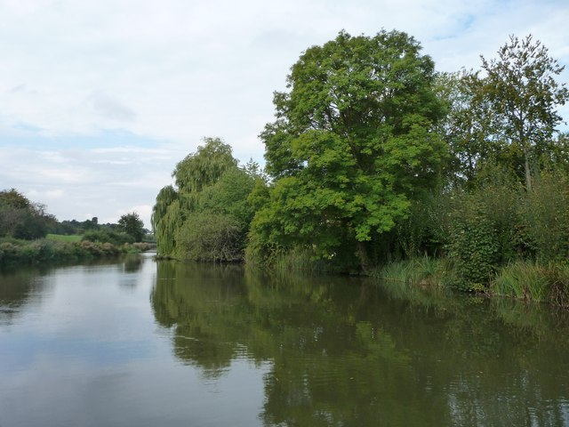North bank, Kennet & Avon canal