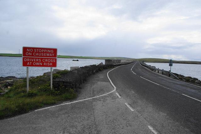 Churchill Barrier No. 2