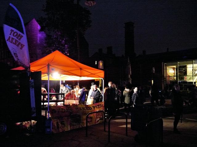 Pizza Stall, Bury Light Night