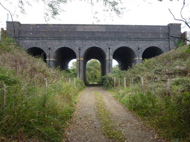 Five Arch Bridge at Church End, Wood Walton