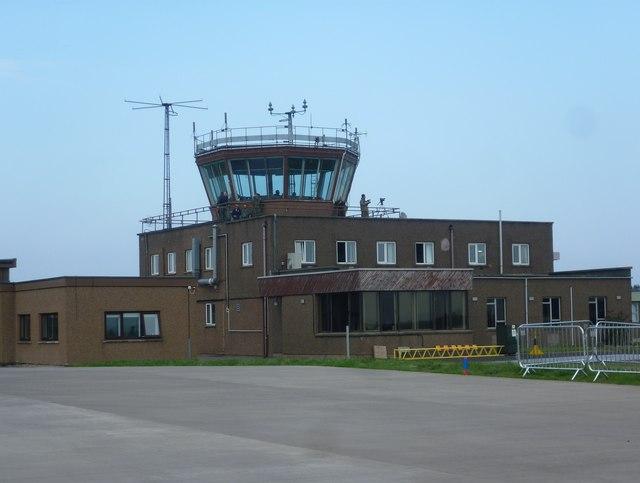 RAF Leuchars control tower