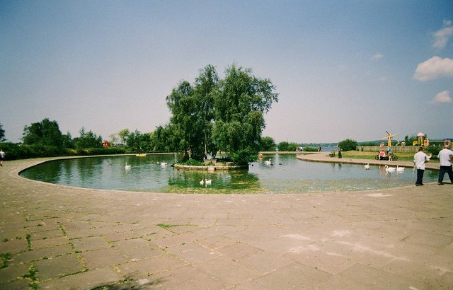 Boating Lake, Chasewater Country Park, Brownhills, Staffs