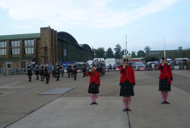 Royal Victoria School performance at Leuchars