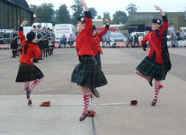 Royal Victoria School dancers