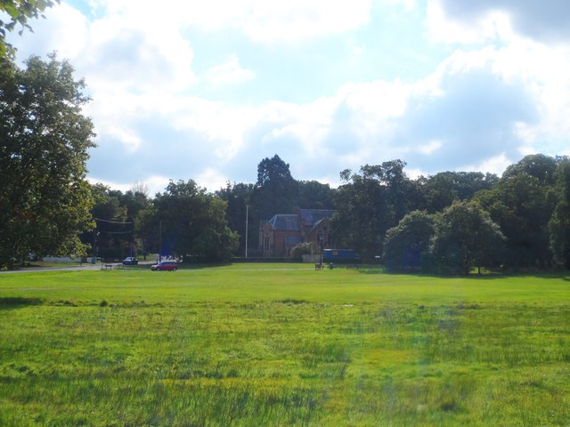The Common and St John's church, Hartley Wintney
