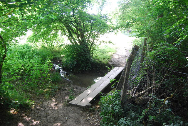 Footbridge, Sussex Border Path