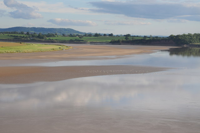 Low tide on the River Severn