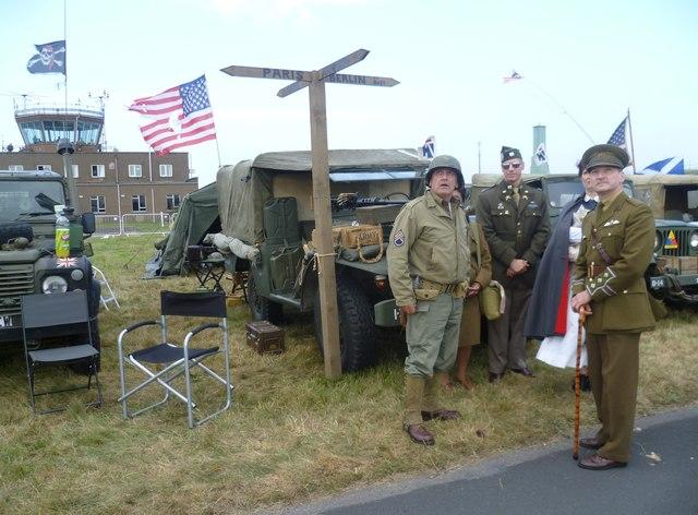 World War II re-enactors, Leuchars Airshow