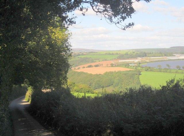 Lane to Skelton's Park