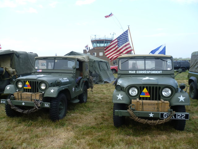 U.S. Army jeeps, Leuchars Airshow