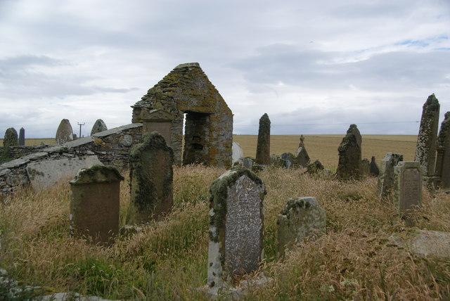 Churchyard at Burwick