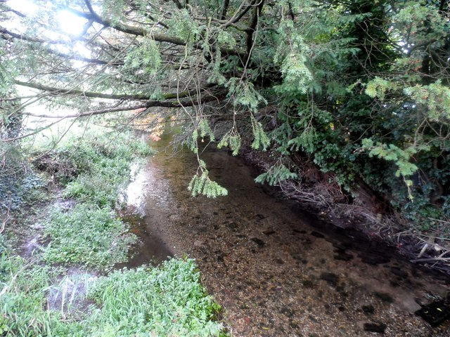 The River Whitewater at North Warnborough