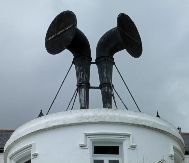 Lizard lighthouse fog horns