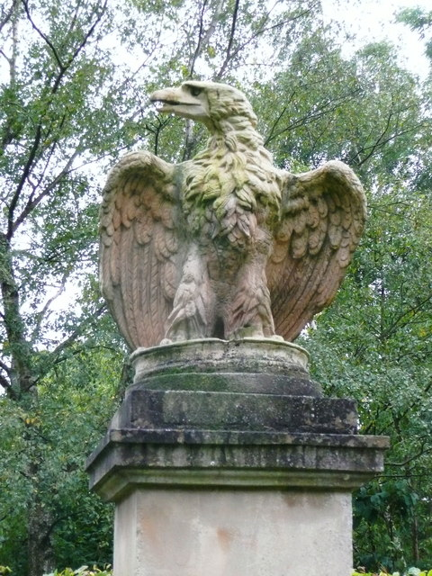 Eagle at Claverton Manor