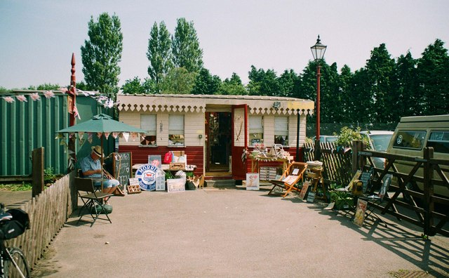 Bella's Waggon, Brownhills West Station, Chasewater Country Park, Brownhills, Staffs