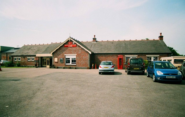 Brownhills West Station, Chasewater Railway, Chasewater Country Park, Brownhills, Staffs