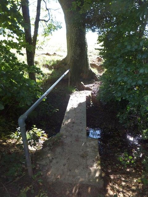 Footbridge on Two Moors Way south of Witheridge