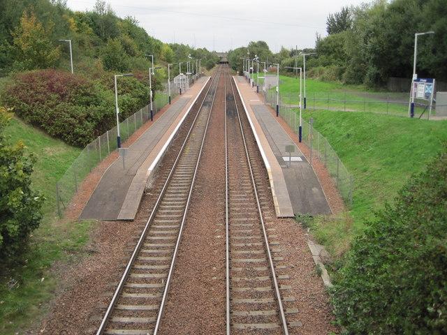 Carmyle railway station, Glasgow