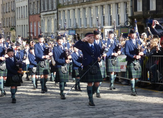 George Heriot's School Pipe Band