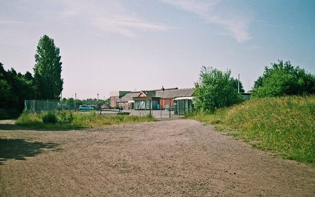 Looking towards the car park of Brownhills West Station, Chasewater Railway, Chasewater Country Park, Brownhills, Staffs