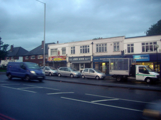 Shops on Stonecot Hill, Morden