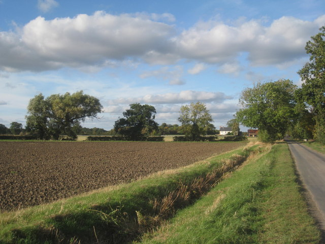 Owsthorpe lane and Manor Farm