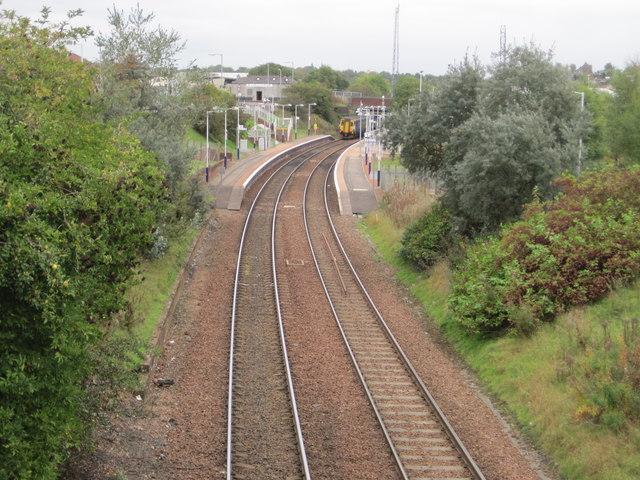 Bargeddie railway station, North Lanarkshire