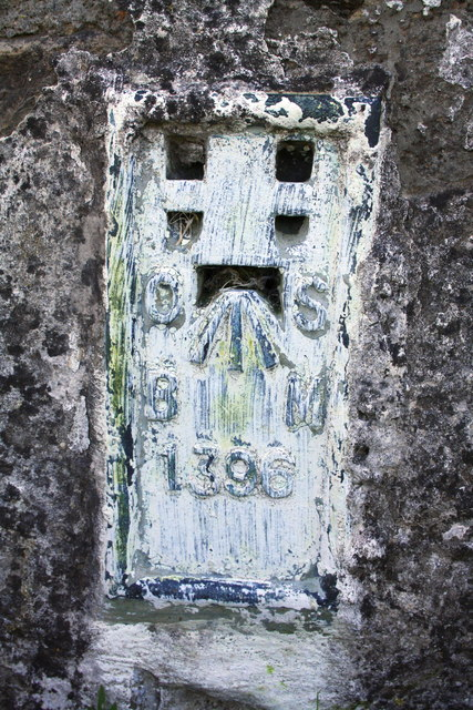 Benchmark on Gayle Beck Lodge