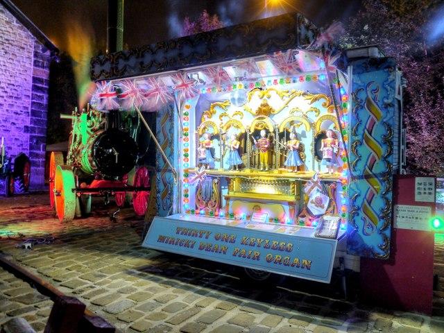 Travelling Fairground Organ, Bury Light Night
