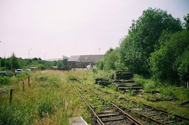 Chasewater Railway - the end of the line, Chasetown, Staffs