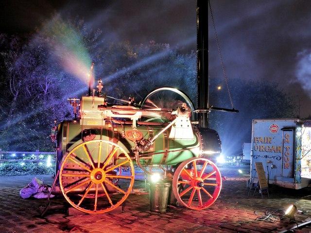 Bury Light Night, Doris the Steam Engine