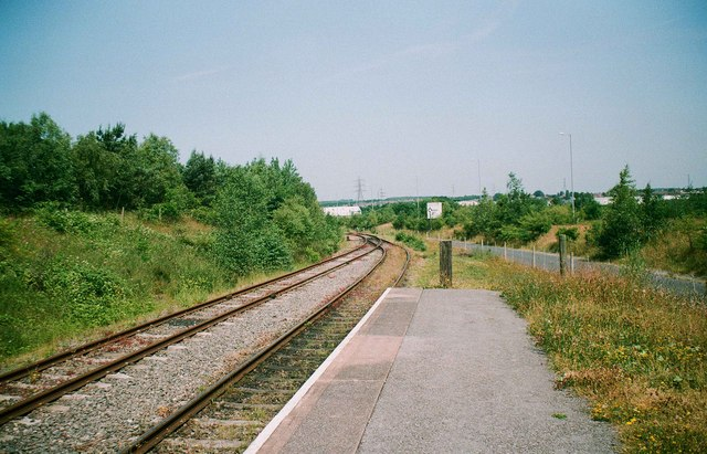 Chasetown (Church Street) Station, Chasewater Railway, Chasetown, Staffs