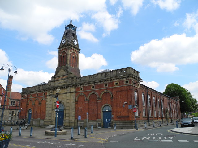 The former Stalybridge Victoria Market Hall