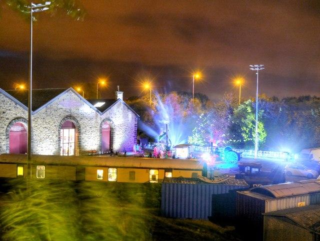 Bury Transport Museum on Bury Light Night