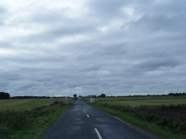 Woodmoss Lane looking west