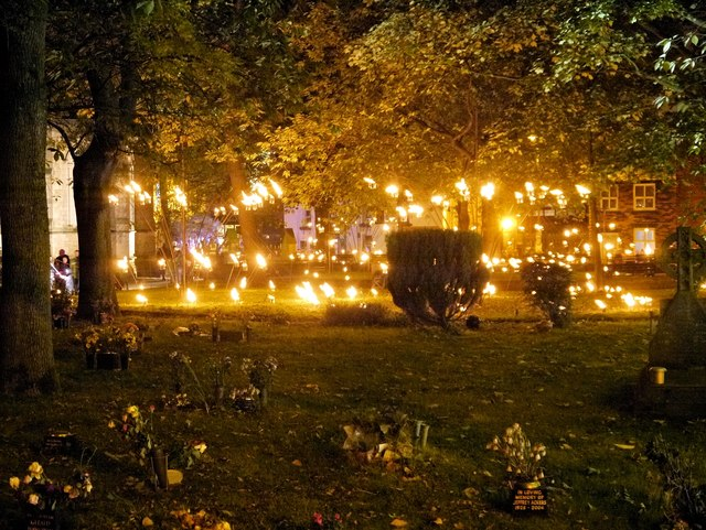 Candelabra, Bury Light Night